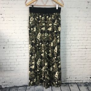 Elizabeth and James Floral Silk Trousers